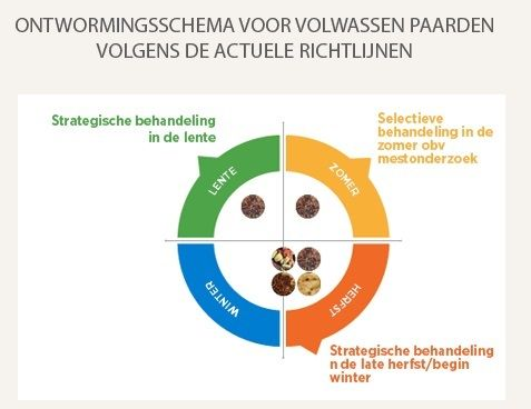 ontworming paarden